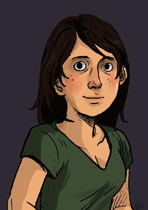 Aimee De Jongh zelfportret