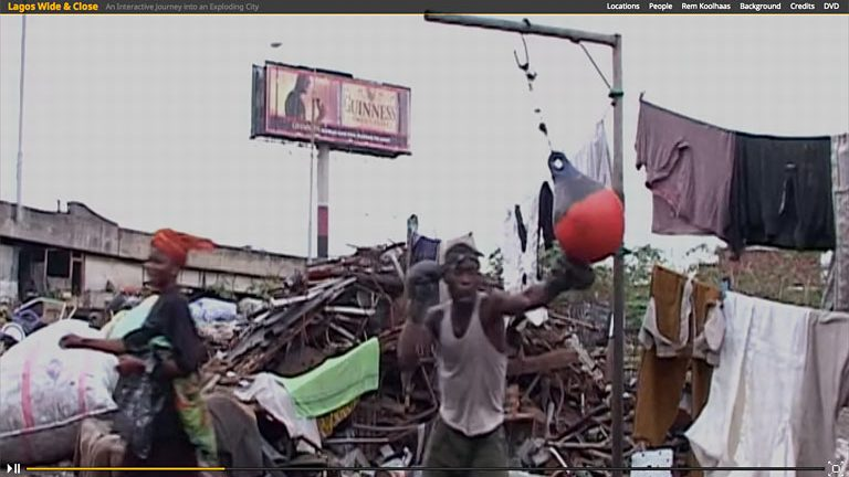 Lagos Wide & Close interactive documentary