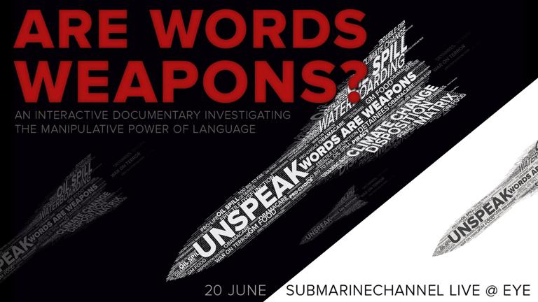 Submarine Channel Live event at EYE - Unspeak