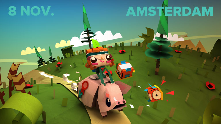 Rex Crowle presents Tearaway and other projects at Tearaway at Playgrounds vs Submarine Channel Amsterdam 2013