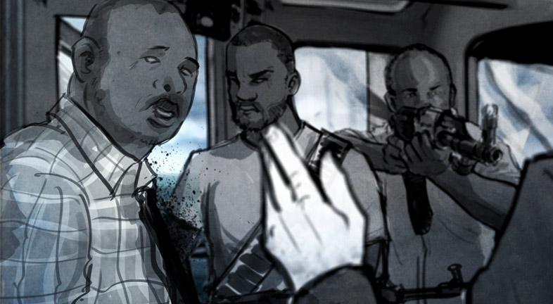 Last Hijack Interactive transmedia experience