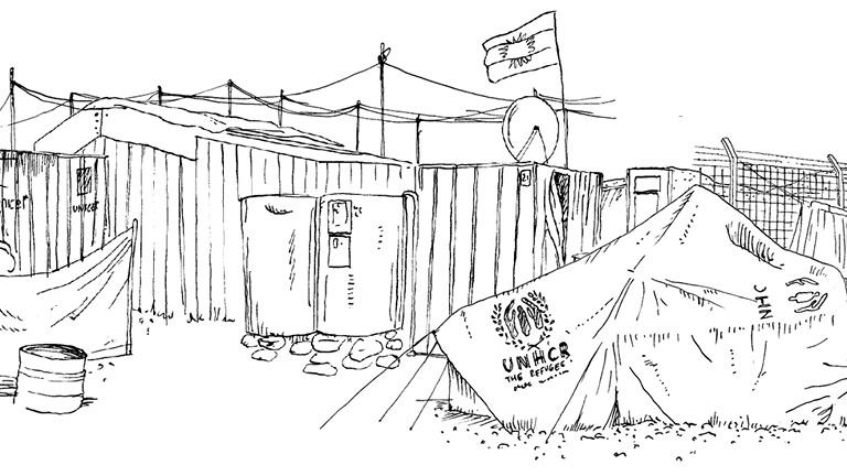 Refugee Republic, an interactive documentary by Jan Rothuizen, Martijn van Tol, Dirk Jan Visser