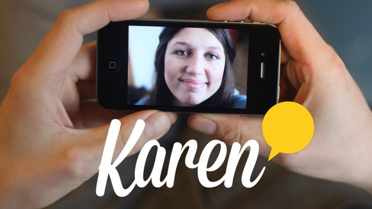 Karen app by Blast Theory