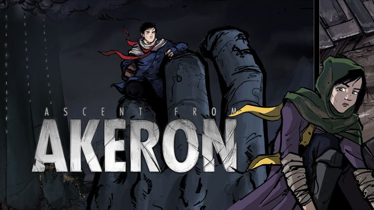 motion comic Ascent from Akeron by William Maher & Gustavo Garcia, produced by Submarine Channel