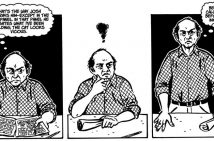 Autobiographical comics Harvey Pekar