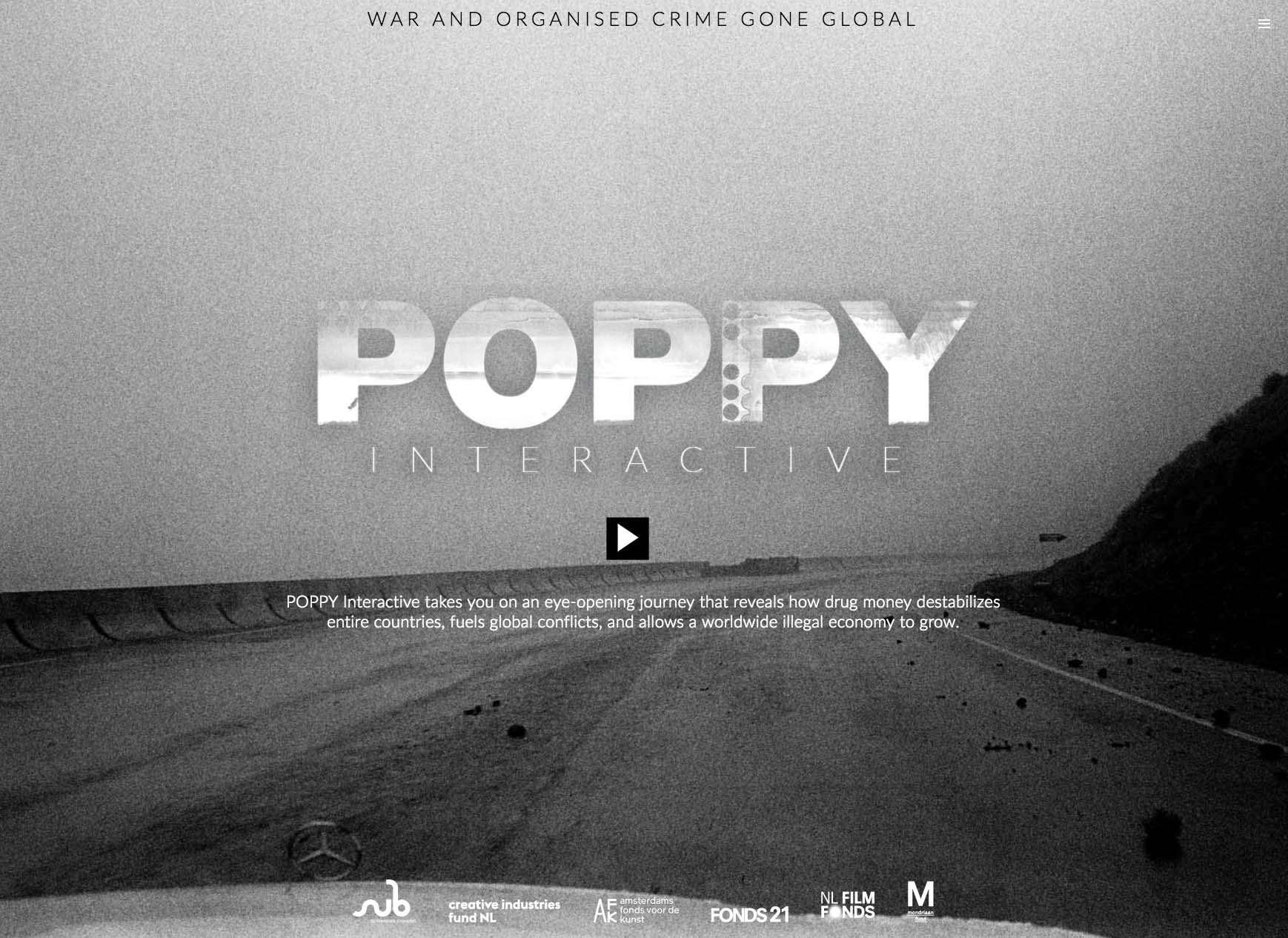 Poppy Interactive Documentary