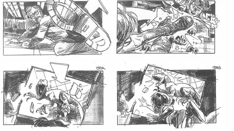 Submarine Channel  Top  Storyboards From Famous Films Alien