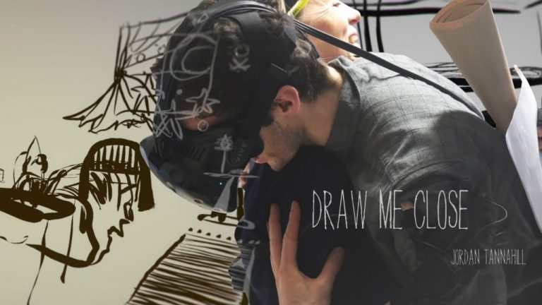 Draw me Close VR Jordan Tannahill installation by NFB National Theatre