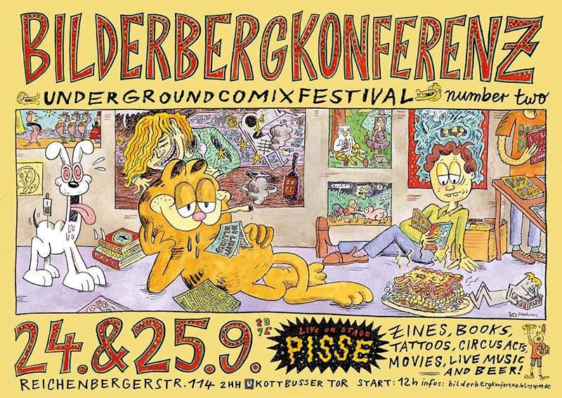 Best European Underground Comics: Bilderberg Conferenz