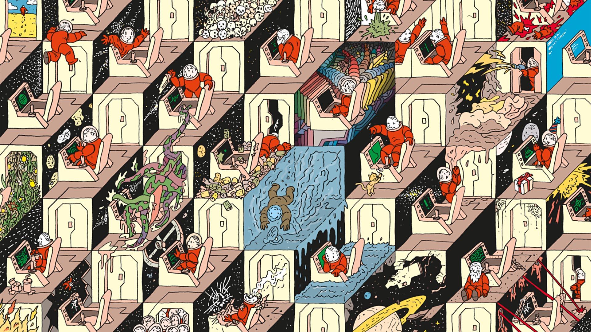 Submarine Channel | Top 5: European Underground Comics