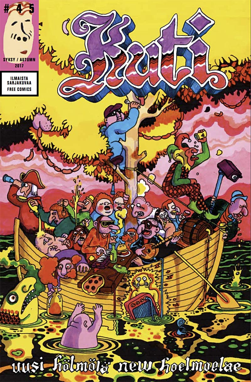 Best European Underground Comics: Kuti Kuti