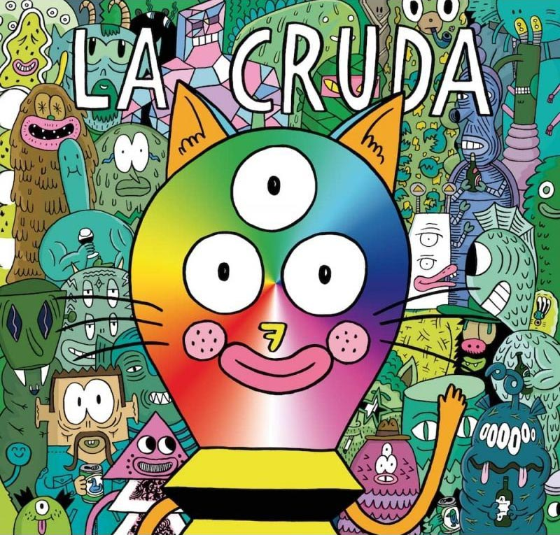 Best European Underground Comics: La Cruda