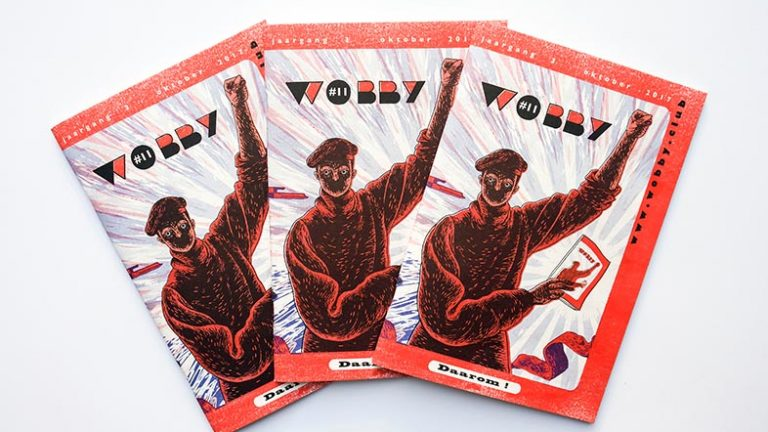 Best European Underground Comics: Wobby