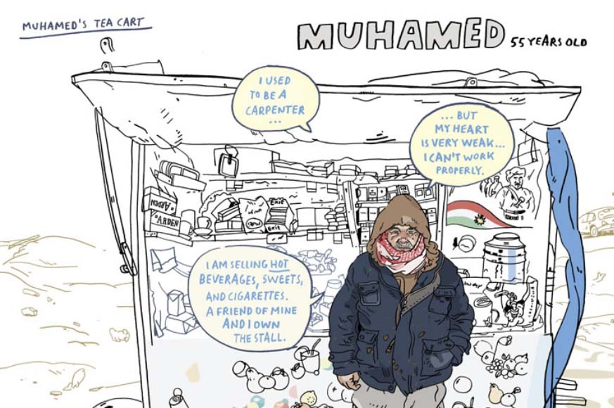Top 5 Best Comics Journalism Drawing the Times Olivier Kugler