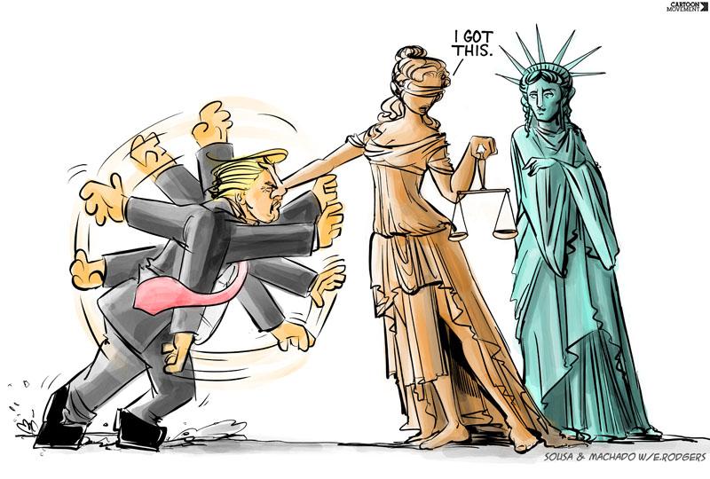 Top 5 Comics Journalism Cartoon Movement Trump
