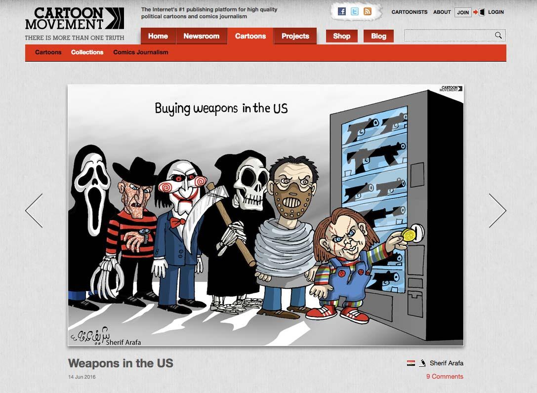 Top 5 Best Comics Journalism Cartoon Movement