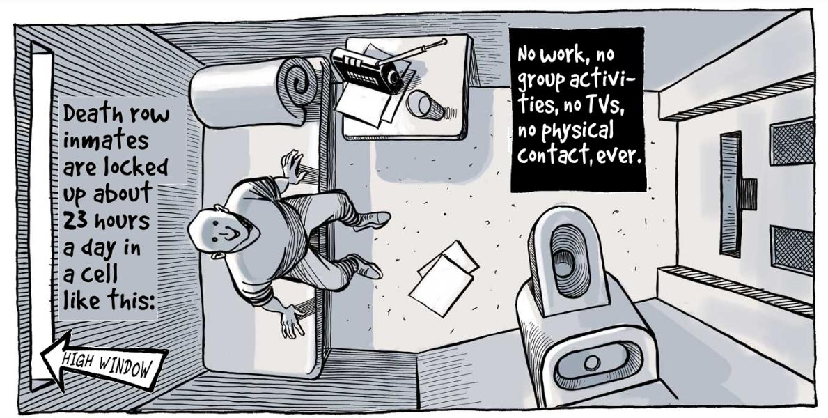 Top 5 Best Comics Journalism Graphics Journalism Death Row