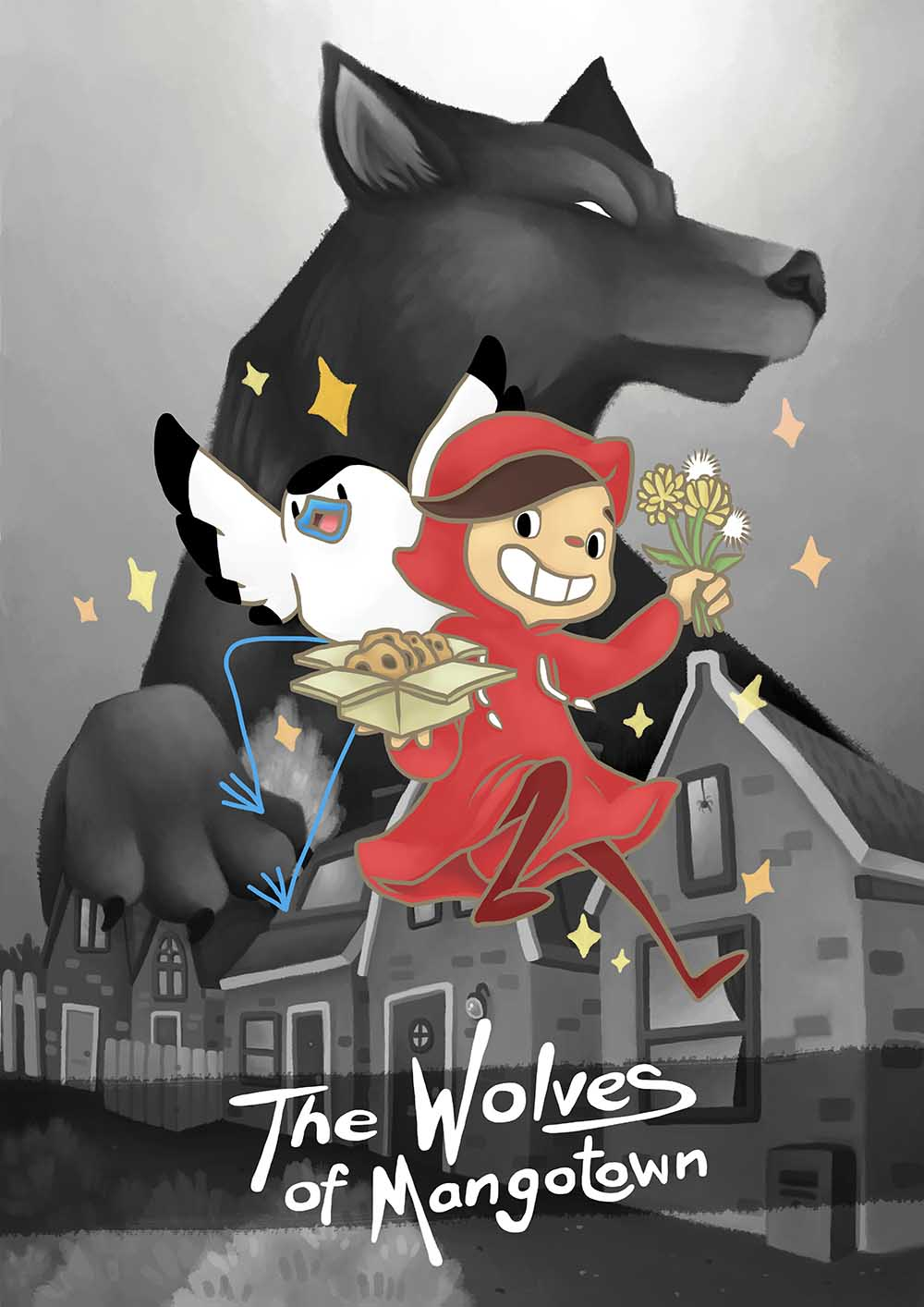 Valerie Chang Wolves of Mangotown animation poster
