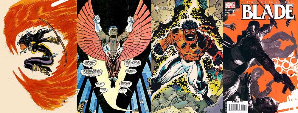Marvel-diverse-dani-moonstar-blade-sunspot-falcon