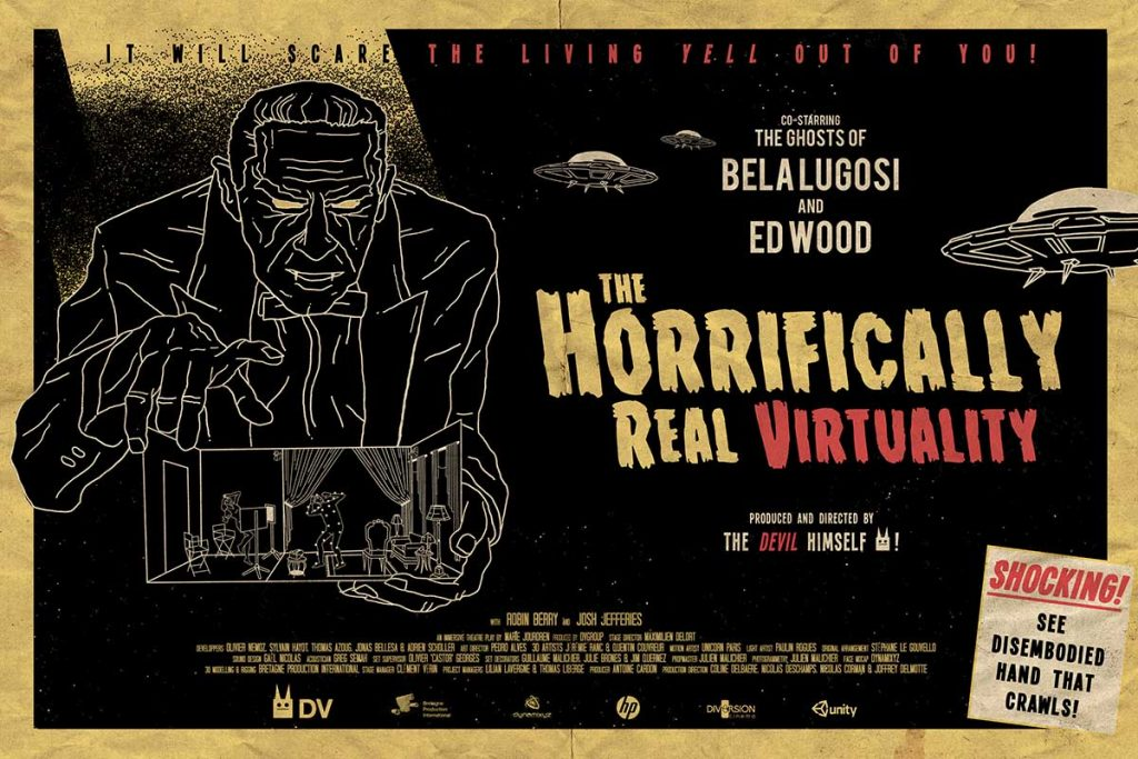 The Horrifically Real Virtuality DVgroup Venice virtual reality in competition