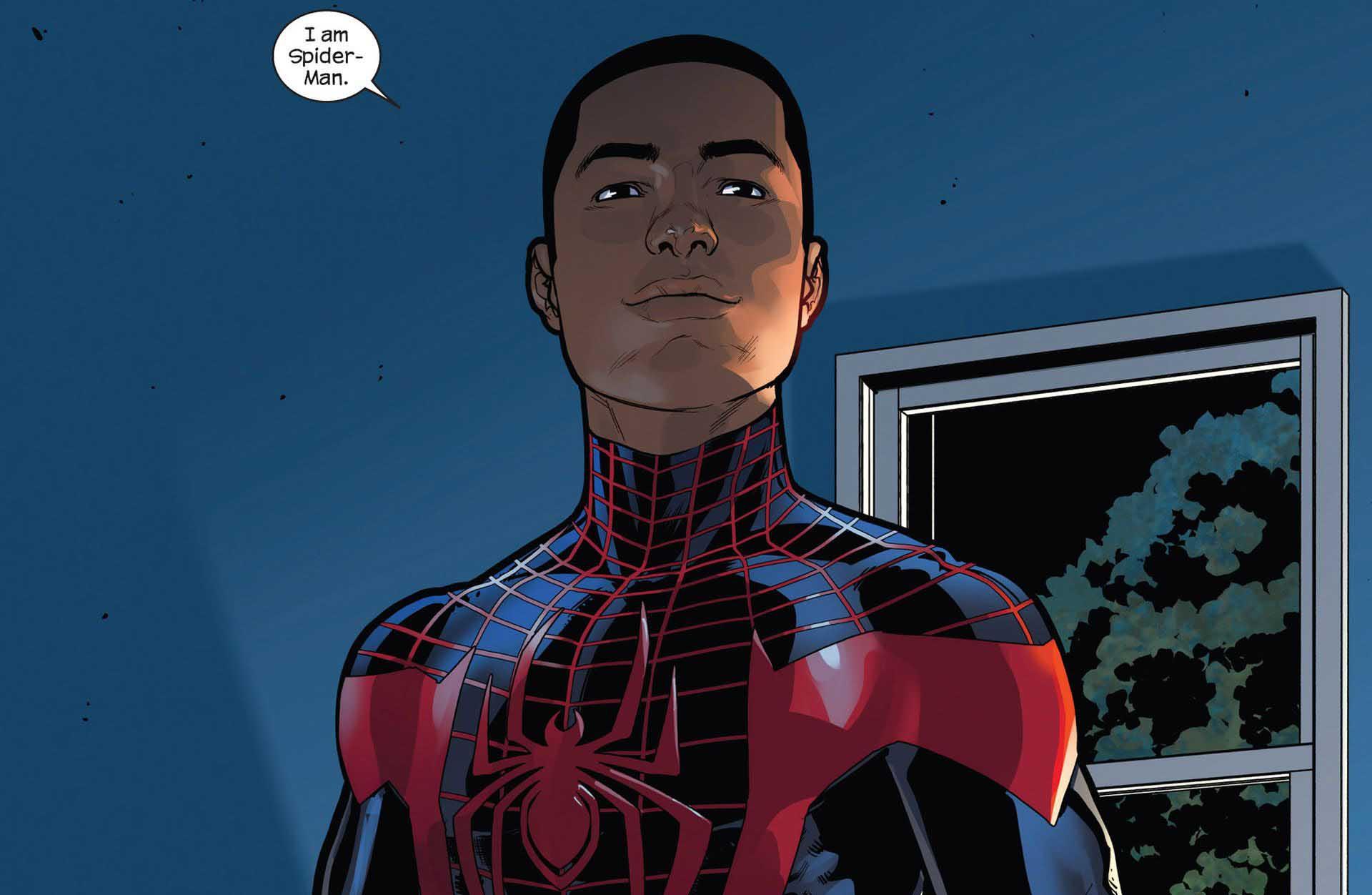 Top 5 Marvel diverse superheroes heroes Miles Morales Spider-Man diversity