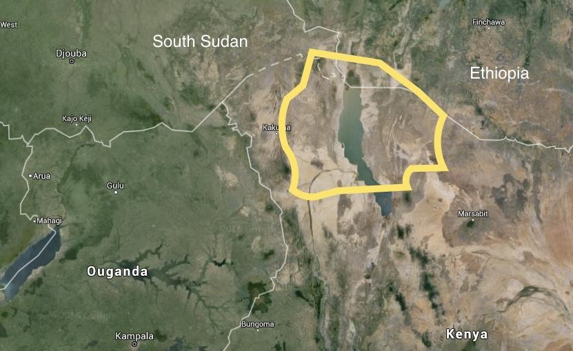 Map of Wakanda