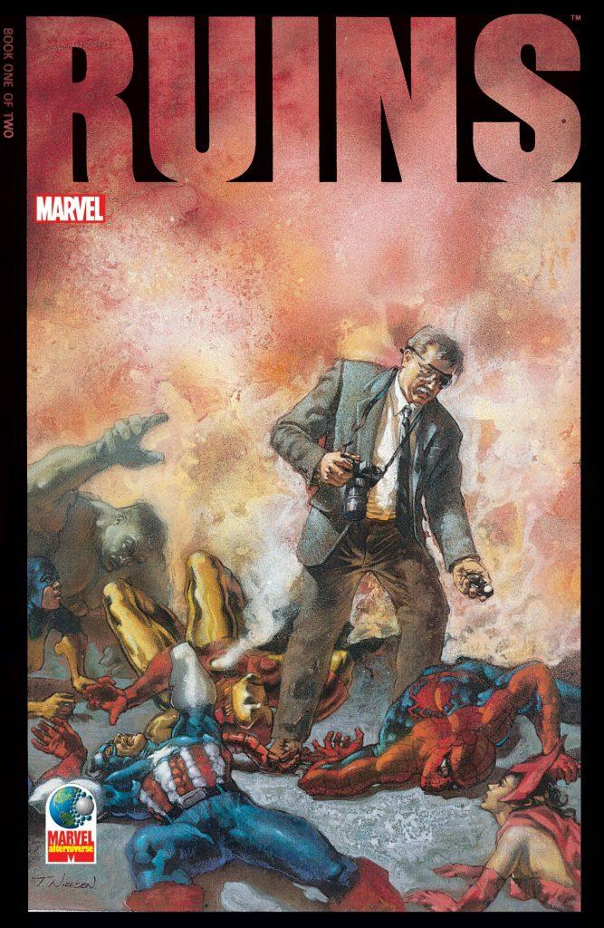 Marvels Companion Ruins Warren Ellis Top 5 Best Dystopian stories in Comics