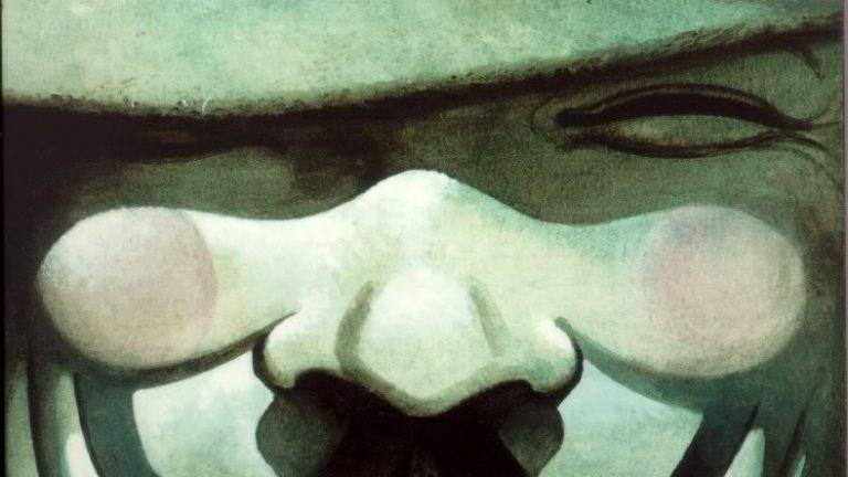 V for Vendetta best dystopian comics Alan Moore David Lloyd