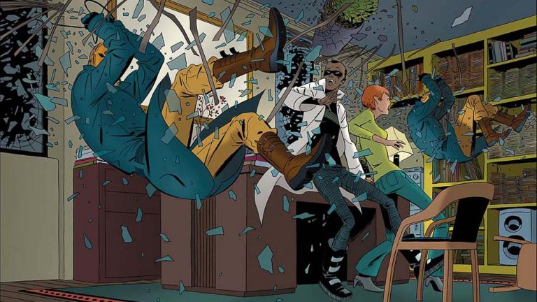 Best dystopian comics: The Private Eye by Brian K Vaughan, Marcos Martin