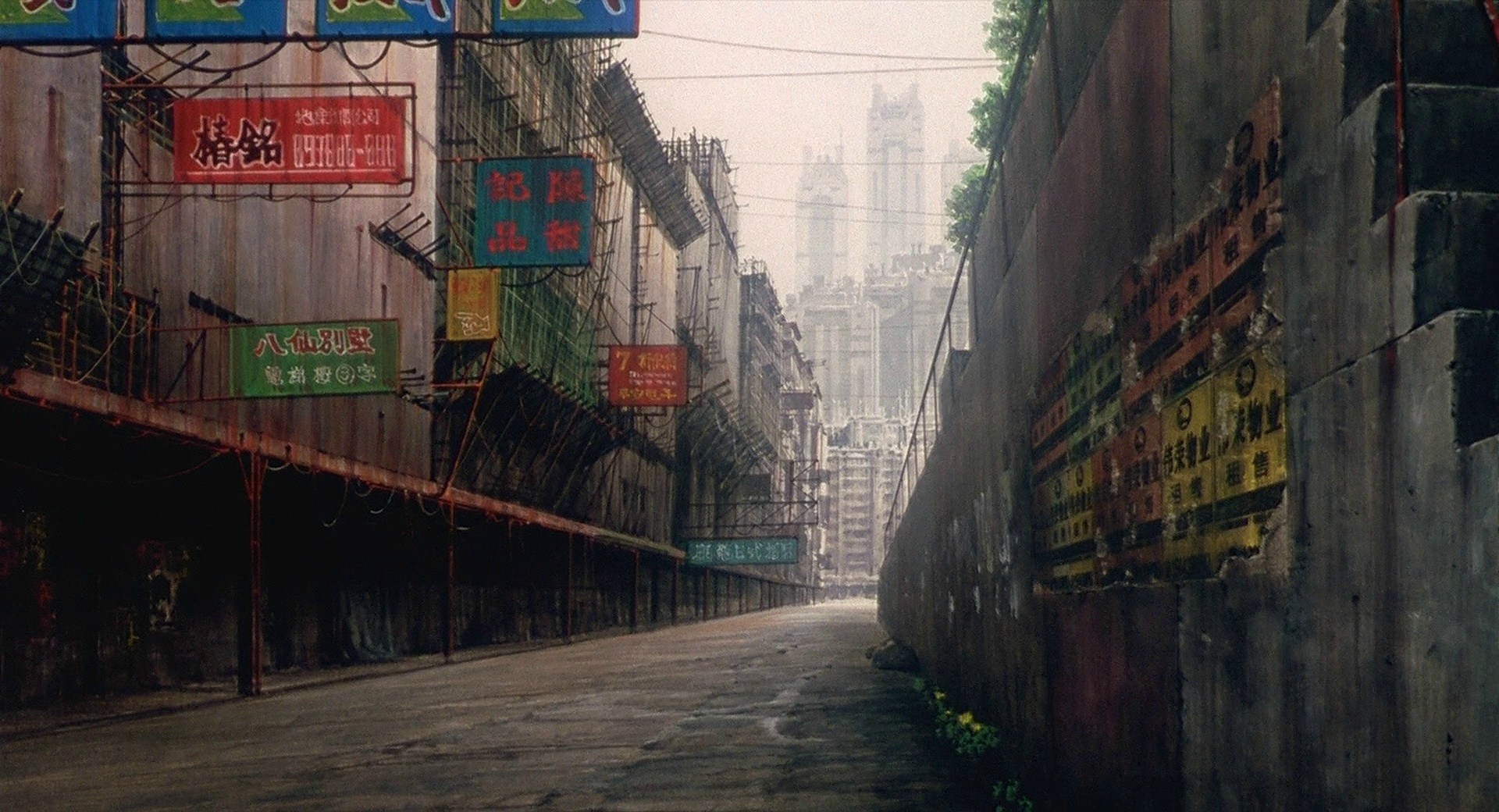 Ghost in the Shell background art