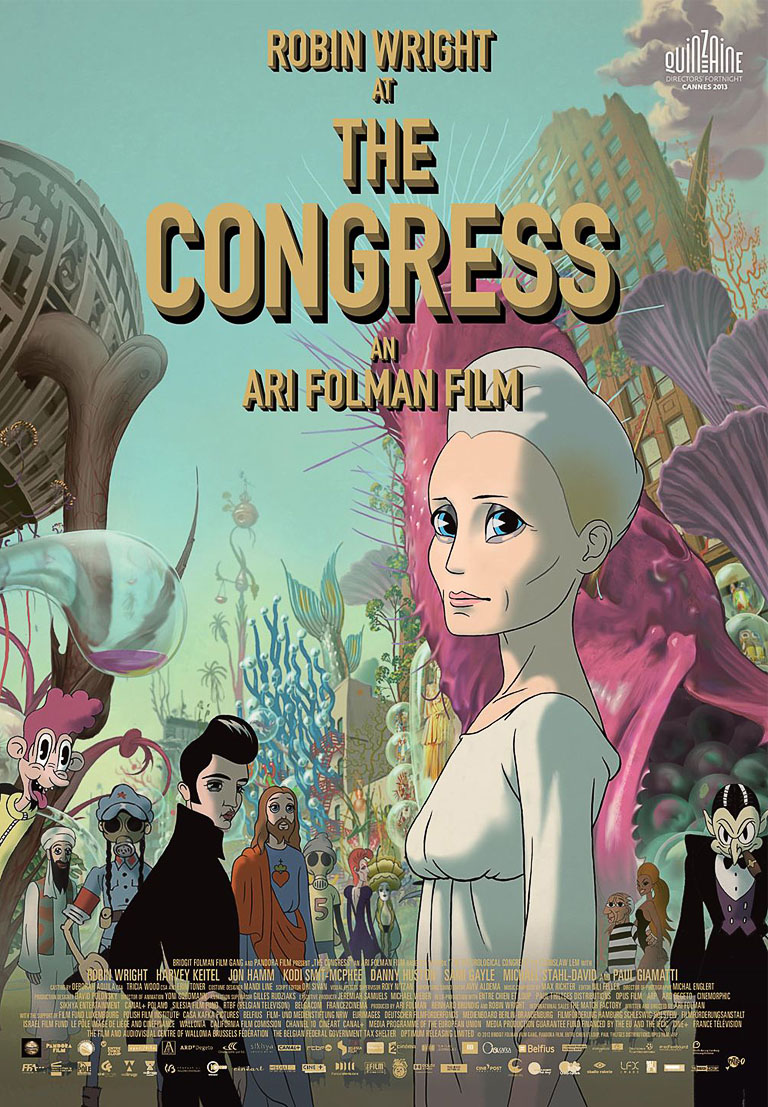 The Congress Ari Folman Best Dystopia in animation
