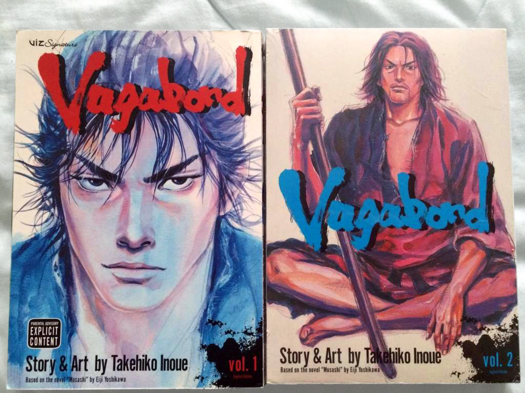 Vagabond manga series covers